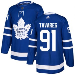 b3aa354eab8 Adidas Maple Leafs  91 John Tavares Blue Home Authentic Stitched NHL Jersey